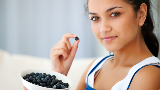She's A Foodie: The Blue, Berry