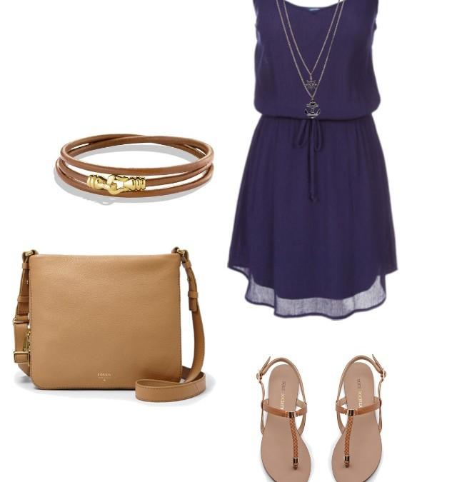She Rocks: A Simple Blue Dress
