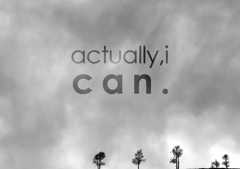 She's Poetic: You Can