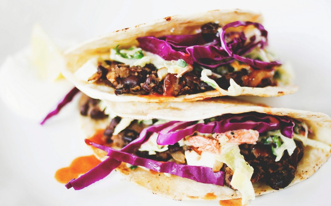 She's A Foodie: Black Bean Tacos
